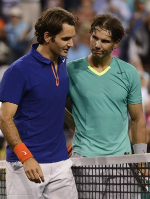 Nadal e Federer, Masters 1000 Indian Wells (Foto: EFE)