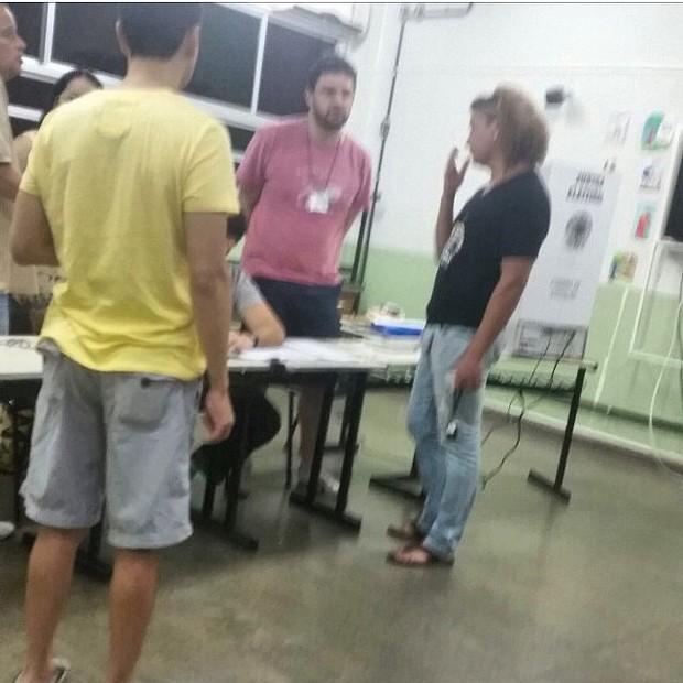 David Brazil não consegue votar (Foto: Reprodução/ Instagram)