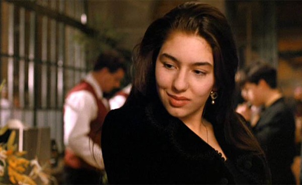 Sofia Coppola em 'O Poderoso Chefão III' (1990) (Foto: Divulgação)