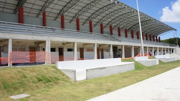 Vila Olímpica do Valentina (Foto: Larissa Keren / Globoesporte.com/pb)