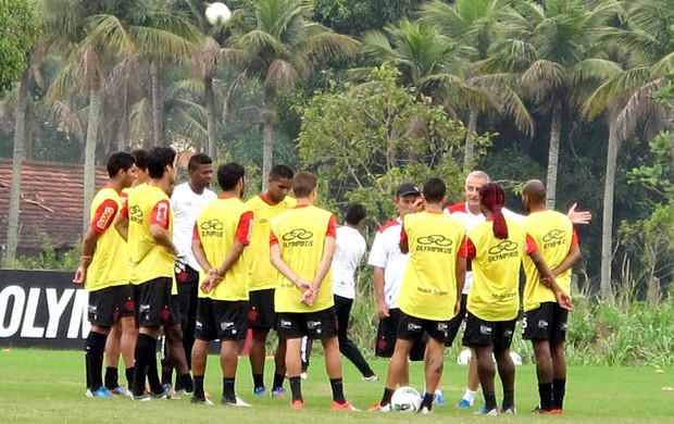dorival junior flamengo treino (Foto: Richard Souza / Globoesporte.com)