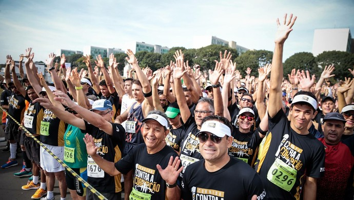 Corrida contra a Corrupção; Fortaleza (Foto: Divulgação)