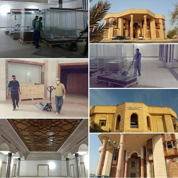 Palácio de Saddam Hussein é transformado em museu (Foto: Reprodução/Instagram)