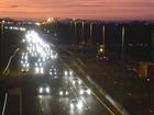 Motorista enfrenta tráfego intenso em direção ao Litoral Norte do RS