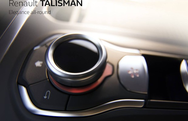 Teaser do Renault Talisman (Foto: Divulgação)
