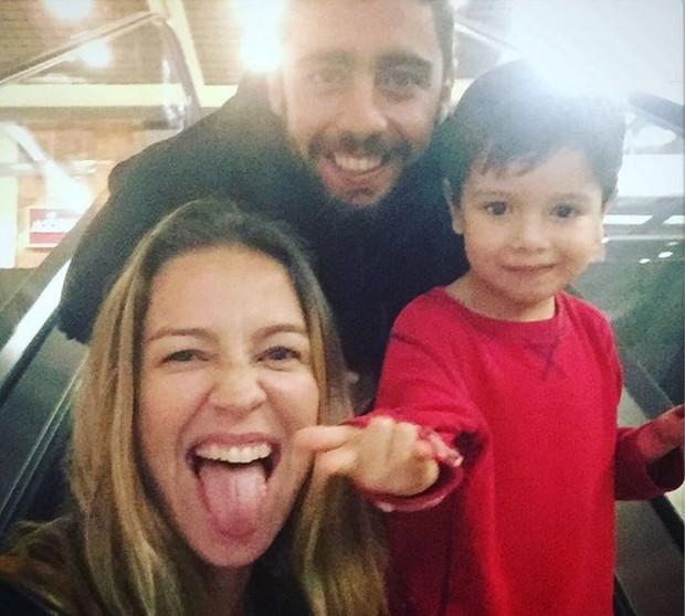 Última foto que Luana Piovani compartilhou com Scooby no Instagram (Foto: Reprodução/Instagram)