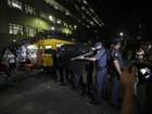 UNE repudia ação da polícia militar em confronto de estudantes na PUC
