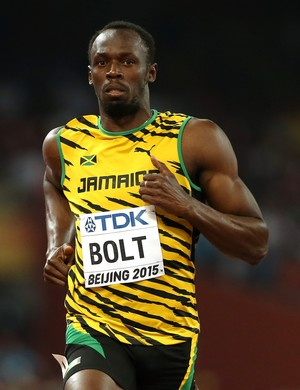 Usain Bolt semifinal 100m mundial atletismo pequim (Foto: Getty Images)