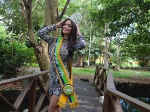 Miss Amapá 2015 concorreu o título com outras 15 candidatas  (Foto: Jéssica Alves/G1)