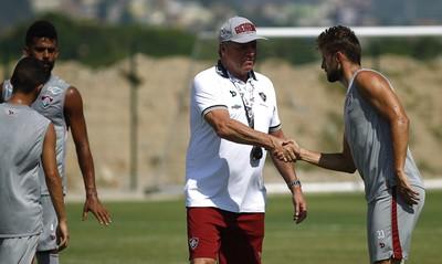 renato chaves, henrique, abel (Foto: Nelson Perez;Fluminense FC)