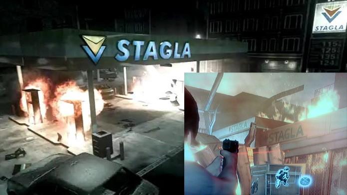 Através dos anos a Stagla continua uma marca forte em Resident Evil (Foto: Reprodução/Rely on Horror e PlayStation Universe)