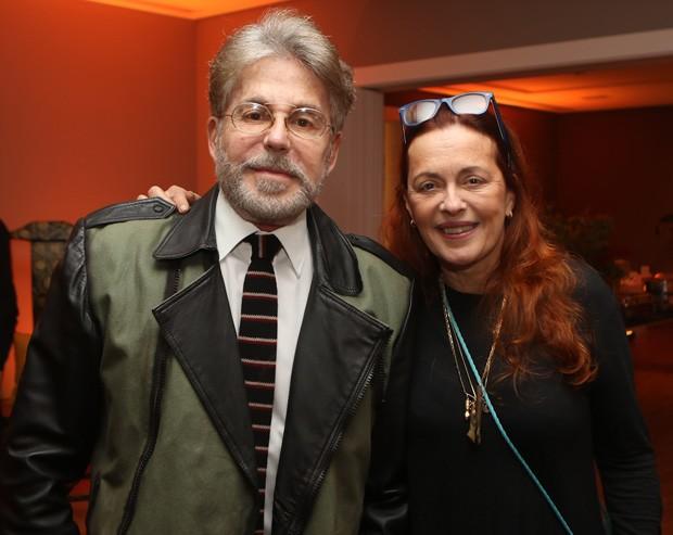 Edwin Luisi e Maria Zilda (Foto: Eny Miranda)