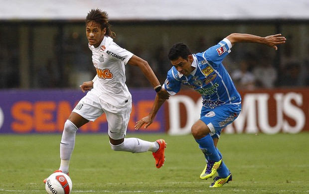 Neymar Santos Catanduvense (Foto: Ivan Storti/Divulgação Santos FC)
