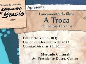 Filme gravado em Candeias do Jamari será exibido em Porto Velho nesta quinta (3) (Foto: Assessoria/Divulgação)