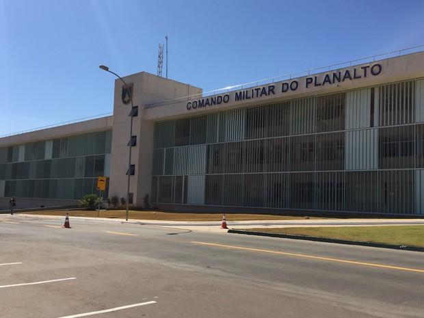 Fachada do Comando Militar do Planalto, em Brasília (Foto: Gabriel Luiz/G1)
