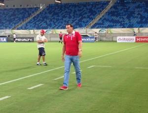 Roberto Fernandes - técnico do América-RN (Foto: Carlos Arthur da Cruz/GloboEsporte.com)