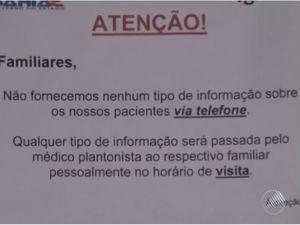 Hospital emitiu nota afirmando que não cobra por procedimentos (Foto: Reprodução/TV Santa Cruz)