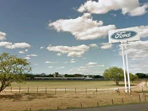 Ford Taubaté (Foto: Reprodução/ Google Maps)