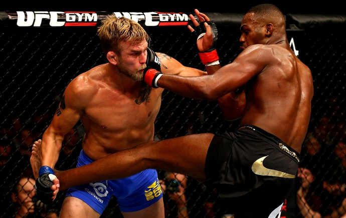 UFC  Jon Jones e Alexander Gustafsson (Foto: Agência Getty Images)