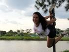 Para 'quebrar preconceito', grupo faz pole dance em parque de Sorocaba