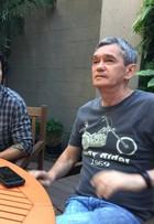 Marco Luque estreia no 'Altas Horas': 'Frio na barriga'