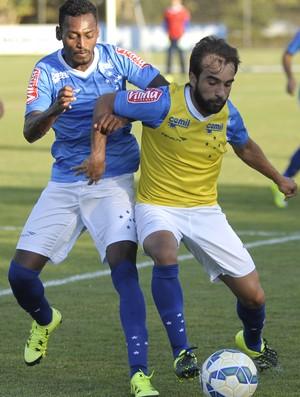 Marquinhos; Gabriel Xavier; Cruzeiro (Foto: Gualter Naves/Light Press)