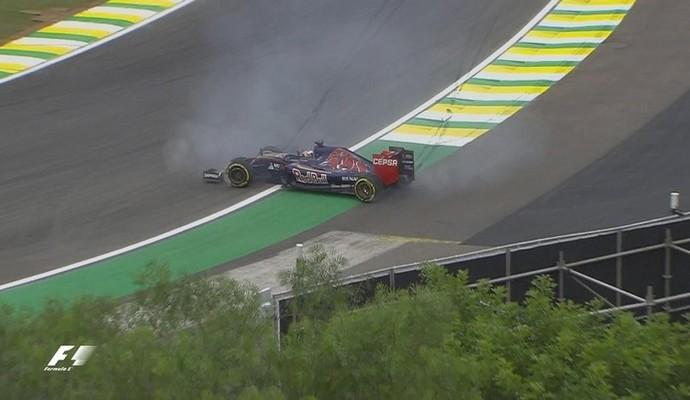 Verstappen - Gp do Brasil - treino de sexta-feira (Foto: Divulgação)