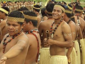 Trinta e cinco indígenas participarão do curso para técnico em enfermagem (Foto: Divulgação/Sesau)