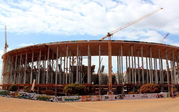 Estádio de brasilia (Foto: Fabricio Marques / GLOBOESPORTE.COM)