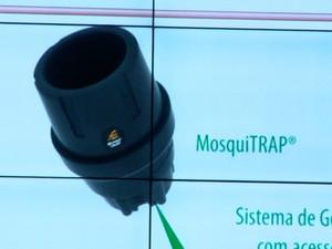 Armadilha será usada para capturar Aedes aegypti adulto (Foto: Reprodução / TV Gazeta)