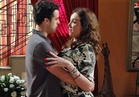 Lucindo (Joaquim Lopes) e Damáris (Marisa Orth) (Foto: Reprodução)