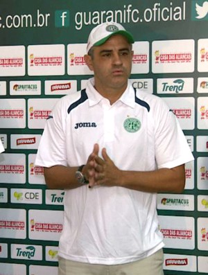 Marcelo Chamusca, técnico, Guarani (Foto: Carlos Velardi / EPTV)