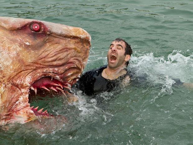 Cena de 'Jersey Shore shark attack' (Foto: Divulgação)