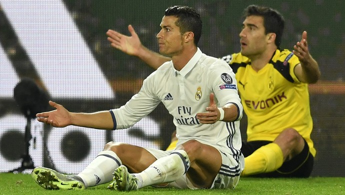 Cristiano Ronaldo Real Madrid Borussia Dortmund (Foto: Martin Meissner / AP)