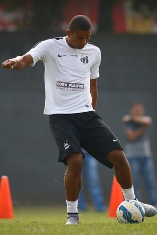 David Braz acredita que o Santos pode chegar ao G-4 do Brasileirão (Foto: Ricardo Saibun/Santos FC)