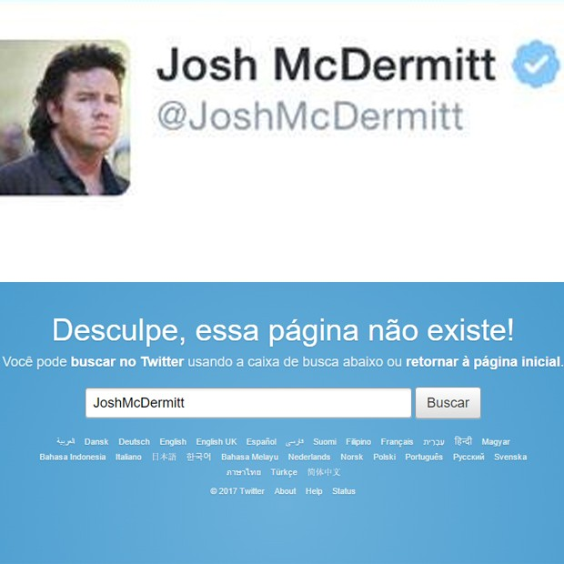 Josh McDermitt, de 'The Walking Dead', deixa redes sociais após ameaças (Foto: Reprodução)