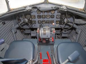 Após a 2ª Guerra Mundial, mais de 90% do tráfego aéreo era feito com este modelo de avião (Foto: Roberto Furtado/Divulgação)