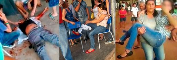Vigia, irmã de aluno e coordenadora da escola estão entre os feridos a tiros em Mossoró (Foto: José Nílson Ferreira/Passando na Hora)
