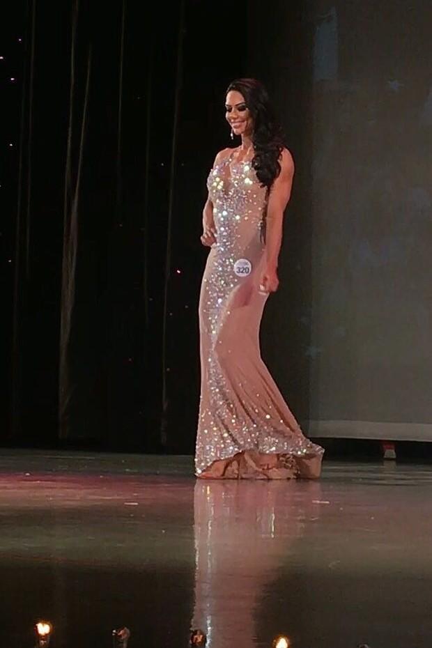 Graciella Carvalho ganha concurso fitness nos EUA (Foto: Arquivo Pessoal)