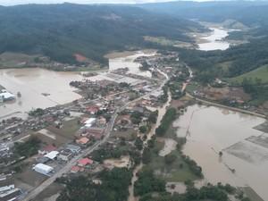 Foram 30 decretos de situação de emergência e dois de calamidade pública (Foto: Defesa Civil/Divulgação)