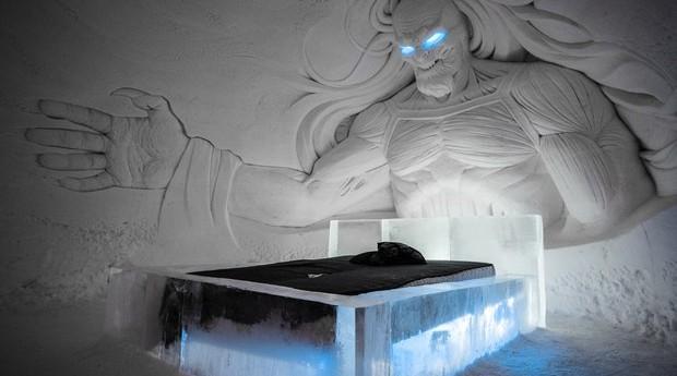 Um quarto no Lapland Hotels Snow Village sai por R$ 644 (Foto: Divulgação)