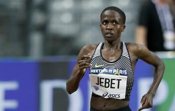 Ruth Jebet quebra o recorde mundial dos 3.000m com obstáculos em Paris