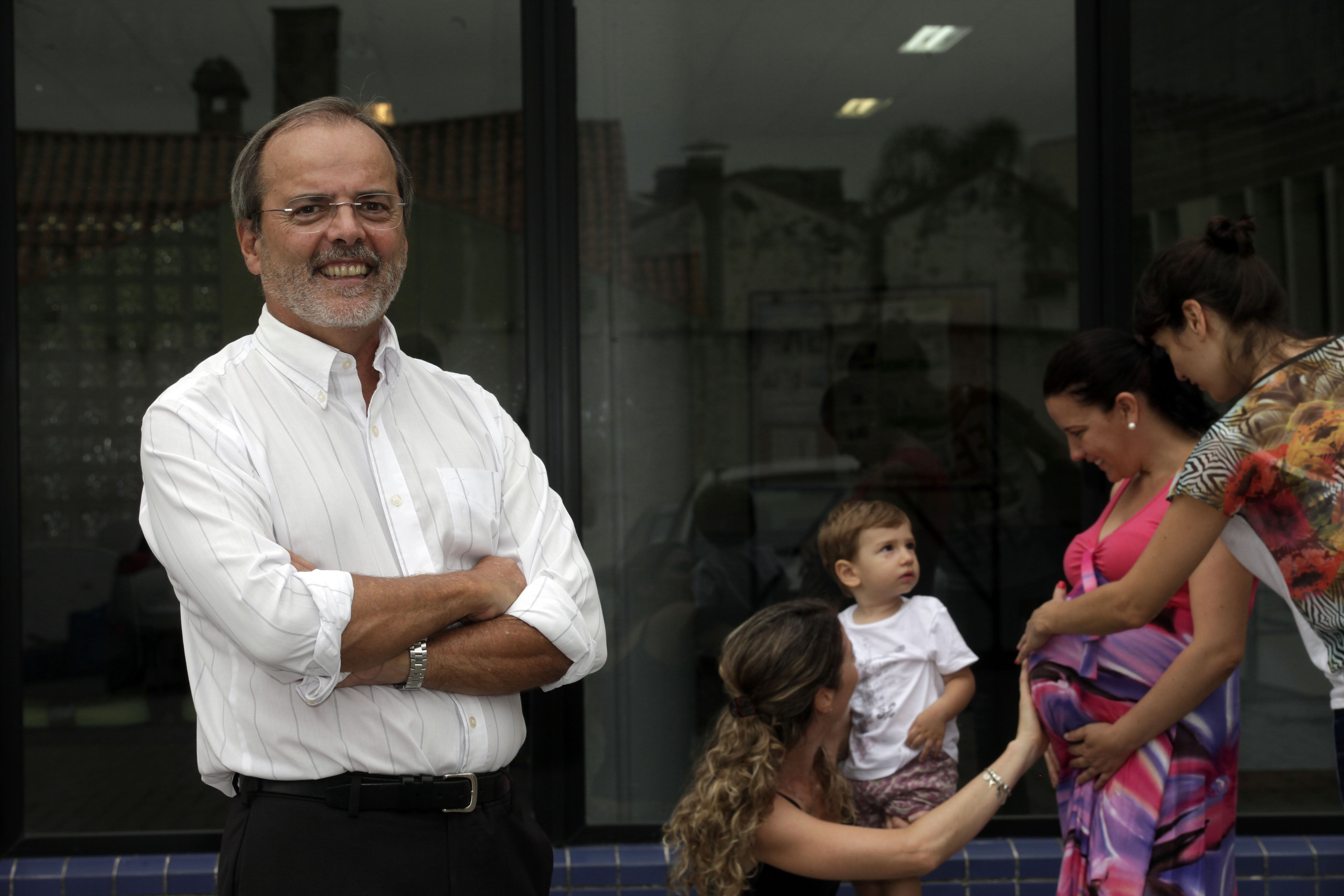 Cesar Victora, pesquisador e professor da UFPel (Foto: Daniela Xu/Divulgação)