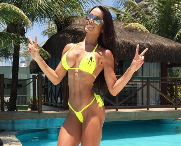 Fernanda D'avila arrasa no verão (Foto: Arquivo Pessoal)