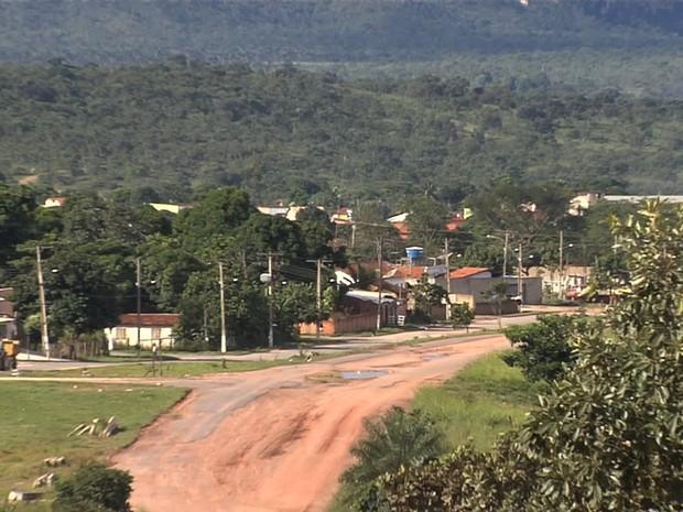 Município de São Domingos viveu período conturbado após eleições de 2012, em Goiás (Foto: Reprodução/TV Anhanguera)