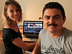 Casal criou o blog Prazer, Mundo! para contarem a aventura pelo mundo (Foto: Divulgação / Prazer Mundo)