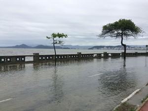 Previsão é de ressaca da mesma grandeza das anteriores (Foto: Solange Freitas/G1)