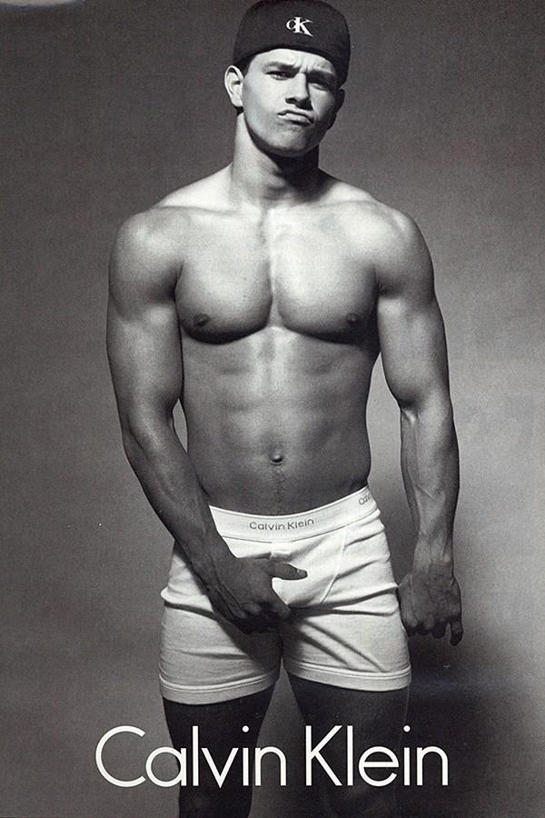 Mark Wahlberg para Calvin Klein (Foto: Divulgação)
