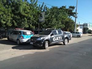 prisão de homicida foragido em Petrolina (Foto: Felipe Pereira/TV Grande Rio)