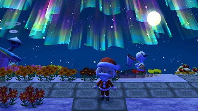 Viva o Natal intensamente em Animal Crossing: New Leaf (Foto: Sosostris)